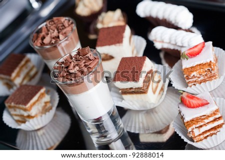 Close up photo of appetizer - stock photo