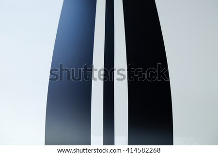 Close-up photo of car front, use for background. - stock photo