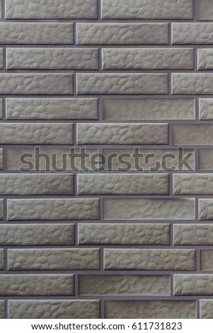 Close Up Photo Of Gray Clinker Brick Wall Modern Architecture Detail Building Exterior