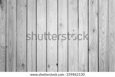 Close up pine wood plank texture and background - stock photo