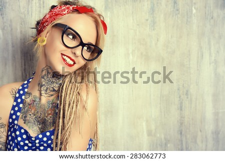 Pin Up Tattoo Stock Images, Royalty-Free Images & Vectors ...