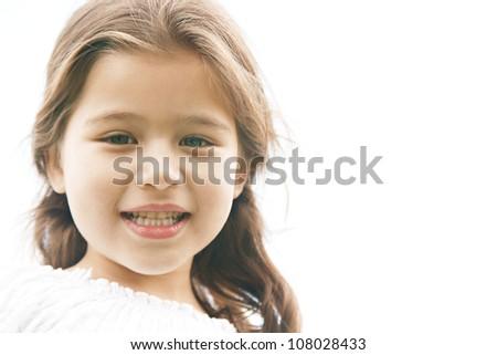 Young innocent facial
