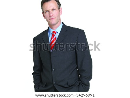 close up portrait of senior businessman