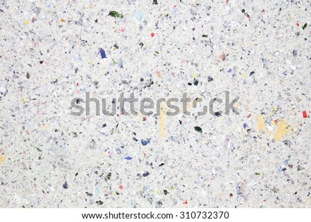 Close up recycle paper texture - stock photo