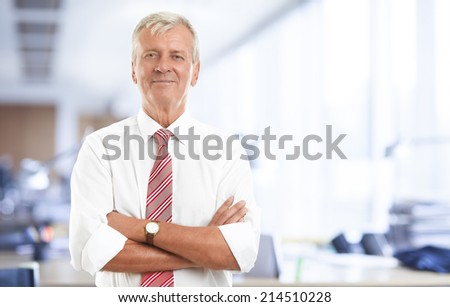 Close-up sales manager standing at office. Business people.  - stock photo
