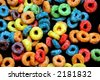 Close up shot of a kid  cereals - stock photo