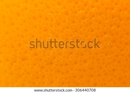 close up shot of a orange peel - stock photo