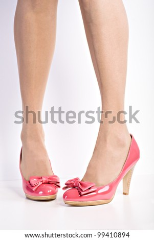 Close up shot of a pair of High Heels