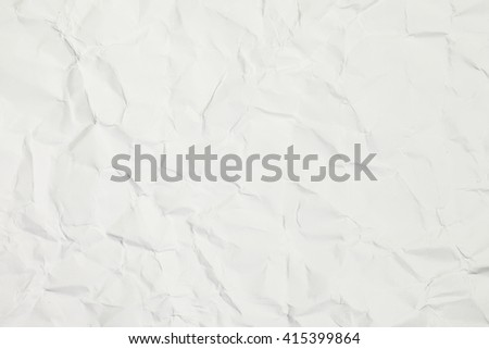 close up shot of light white recycled paper texture background - stock photo