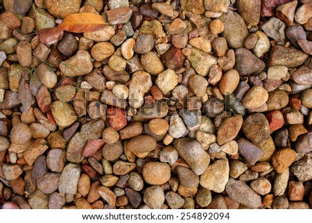 Close up shot of rock texture - stock photo