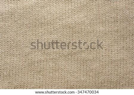 Close up shot of seamless fabric taxture - stock photo