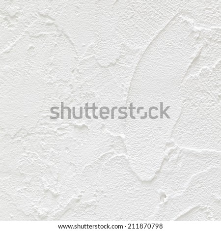 close up shot of white concrete wall texture background in square ratio - stock photo