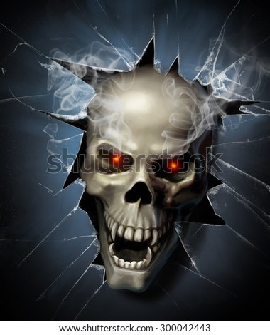 Scary Skulls Stock Images Royalty Free Images Amp Vectors