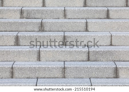 Close - up Stone Stair at outdoor