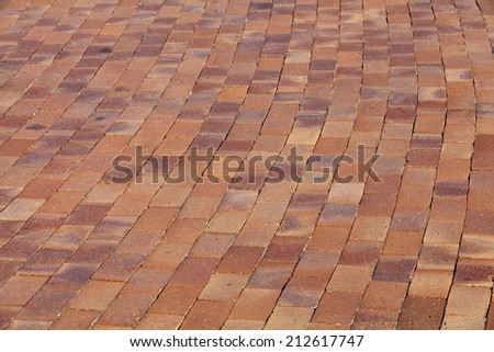 close - up street floor tiles as background
