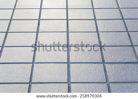 close - up street floor tiles as background..   - stock photo