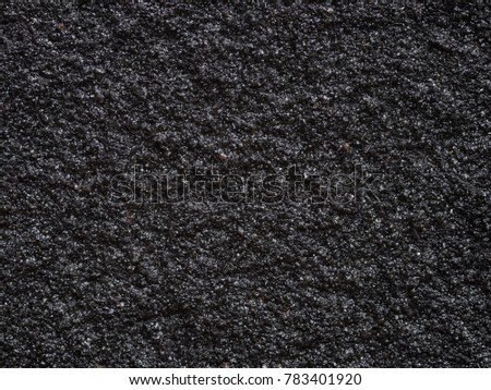 Close Surface Image Black Textured Paint Stock Photo Royalty Free