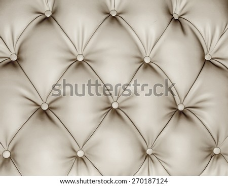 close up surface sofa - stock photo