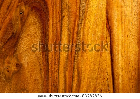 Close-up teak wood textured background - stock photo
