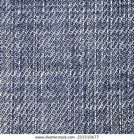 Close - up texture of blue denim jean