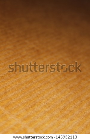Close up texture of cardboard. Background. Shadows