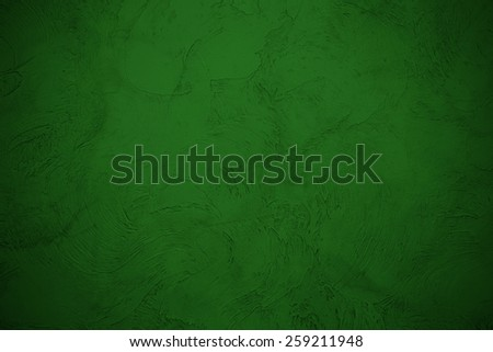 Close up texture of green wall background - stock photo