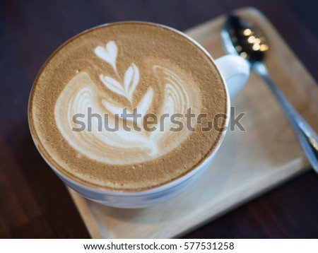 how to make patterns in coffee foam