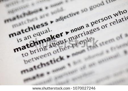 Matchmaking verb