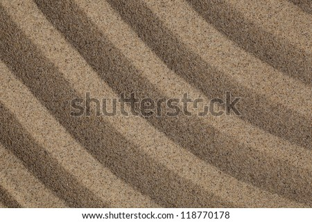 close up view beach sand background - stock photo