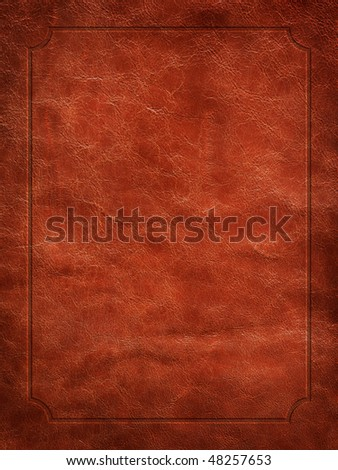Close up view of Leather texture.