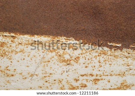 close up view of rusty metallic surface