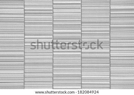 close - up White modern wall background - stock photo