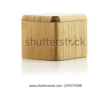 Closed Salt Box - stock photo