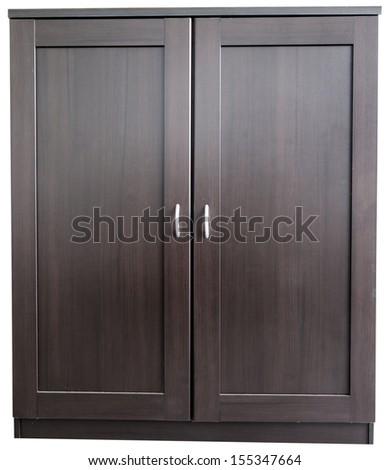 Closet door - stock photo