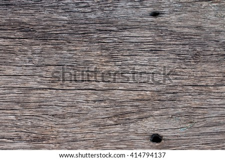 closeup at surface of old wooden board