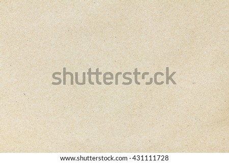 Closeup brown recycled paper sheet texture for background and design with copy space for text or image. - stock photo