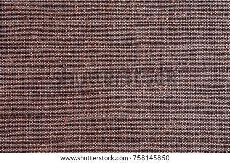Closeup Brown With Purple Color Fabric Texture Sample Backdrop Strip Light Pattern Design