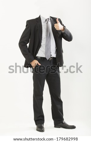 closeup businessman suit - stock photo