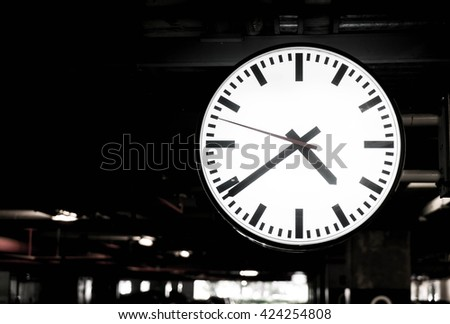 Closeup Clock