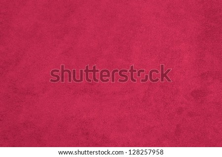 Closeup detail of pink suede texture background. - stock photo