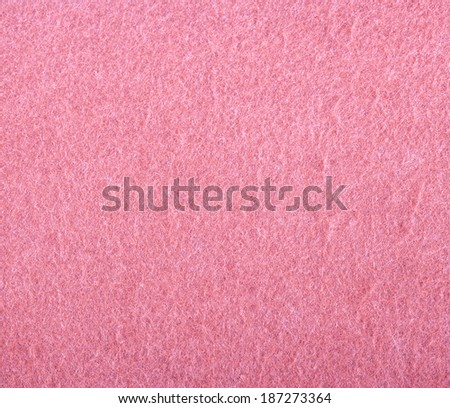 Closeup detail of pink suede texture background - stock photo