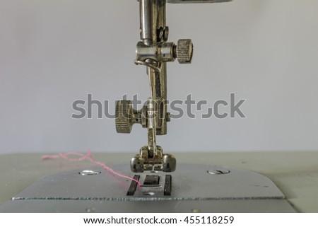 Closeup Detail Sewing Machine Broken Needle Stock Photo Royalty Unique Broken Sewing Machine Needle
