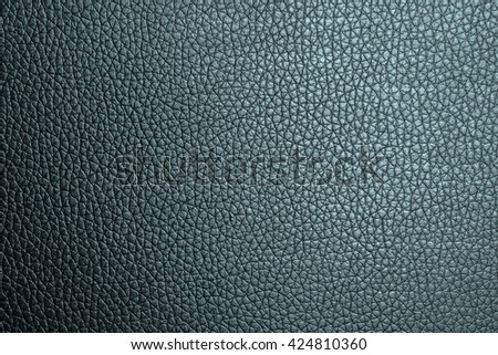 Closeup green leather texture. leather background. and  leather surface. for design with copy space for text or image.