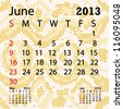closeup illustration of a patterned albino snake skin background for june 2013 calendar. - stock photo