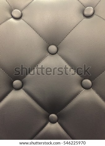 Closeup leather chair.