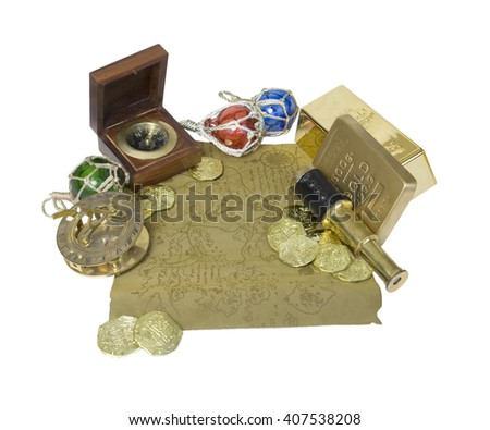 Closeup of a gold coin purchased as an investment - stock photo