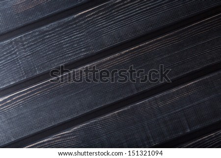 Closeup of a rounded wooden texture