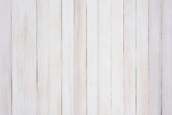 Closeup Of A Rustic Whitewashed Wood Background The Boards Are Straight Up And Down