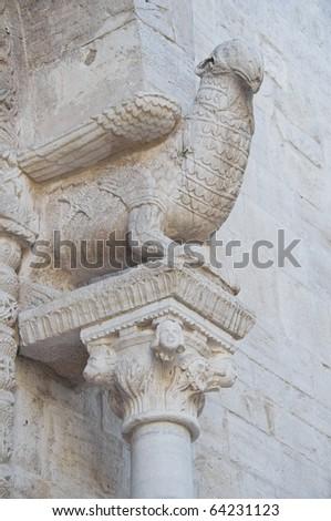 Closeup of a statue. - stock photo