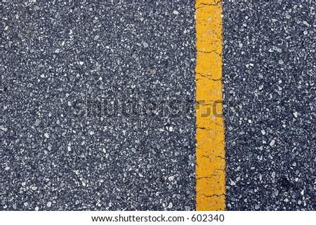 CLoseup of asphalt surface. - stock photo
